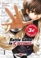Battle game in 5 seconds T.1 - Couverture - Format classique