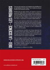 Dieu, la science, les preuves : l'aube d'une révolution - 4ème de couverture - Format classique