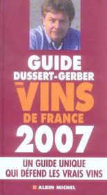 Guide dussert-gerber des vins de france (édition 2007) - Intérieur - Format classique