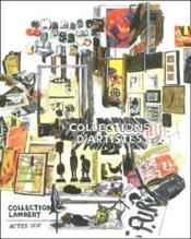 Collections d'artistes - Couverture - Format classique
