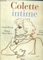 Colette intime - Couverture - Format classique