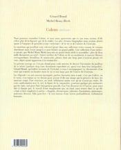 Colette intime - 4ème de couverture - Format classique