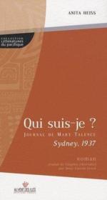 Qui suis-je ? ; Sydney 1937 - Couverture - Format classique