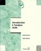 Introduction a l analyse reelle - Couverture - Format classique