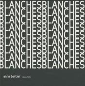 Blanches - Couverture - Format classique