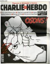 Charlie Hebdo N°171 - Osons ! - Couverture - Format classique