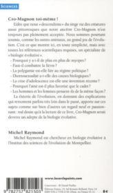Cro-Magnon toi-même ! ; petit guide darwinien de la vie quotidienne - 4ème de couverture - Format classique