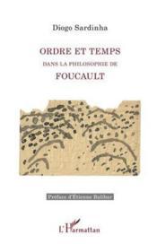 Ordre et temps ; dans la philosophie de Foucault - Couverture - Format classique