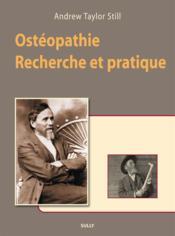 Ostéopathie ; recherche et pratique - Couverture - Format classique