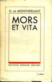 Mors Et Vita. - Couverture - Format classique