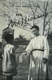 Un Missionnaire. - Couverture - Format classique