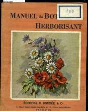 Manuel Pratique Du Botaniste Herborisant - Couverture - Format classique