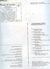 Plaisir De France Revue Mensuelle N°364 - Couverture - Format classique