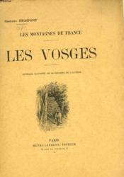 Les Montagnes De France. Les Vosges. - Couverture - Format classique