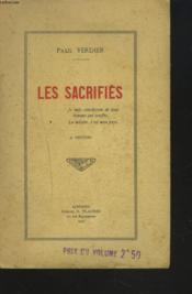 Les Sacrifies. - Couverture - Format classique