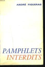 Pamphlets Interdits - Couverture - Format classique