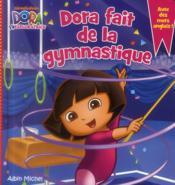 Dora fait de la gymnastique - Couverture - Format classique