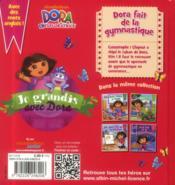 Dora fait de la gymnastique - 4ème de couverture - Format classique