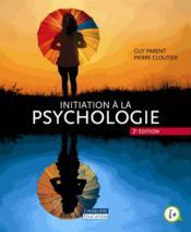 Initiation à la psychologie (2e édition) - Couverture - Format classique