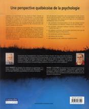 Initiation à la psychologie (2e édition) - 4ème de couverture - Format classique
