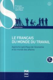 Le français du monde du travail (5e édition) - Couverture - Format classique