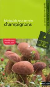 Champignons - Couverture - Format classique