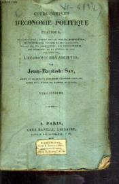 Cours Complet D'Economie Politique Pratique / Tome Sixieme. - Couverture - Format classique