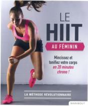 Le HIIT au féminin - Couverture - Format classique