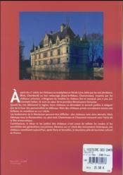 L'histoire des châteaux de la Loire - 4ème de couverture - Format classique