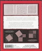 CQFD ; beauté de la démonstration mathématique - 4ème de couverture - Format classique