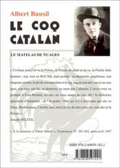 Le coq catalan - 4ème de couverture - Format classique