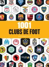 1001 clubs de foot - Couverture - Format classique
