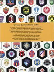 1001 clubs de foot - 4ème de couverture - Format classique