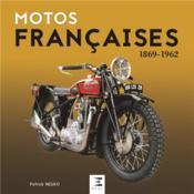 Motos francaises 1869-1964 - Couverture - Format classique