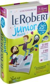 Dictionnaire Le Robert junior illustré ; 7/11 ; CE, CM, 6 (édition 2018) - Couverture - Format classique