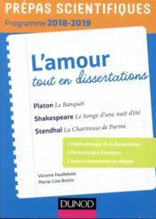 Thème de français-philosophie en 25 dissertations ; prépas scientifiques (édition 2018/2019) - Couverture - Format classique