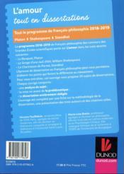 Thème de français-philosophie en 25 dissertations ; prépas scientifiques (édition 2018/2019) - 4ème de couverture - Format classique