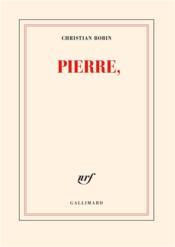 Pierre - Couverture - Format classique
