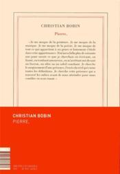 Pierre - 4ème de couverture - Format classique