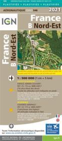 OACI 946 : France B Nord-Est (édition 2021) - Couverture - Format classique