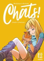 Chats ! t.1 : chats-tchatcha - Couverture - Format classique