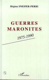 Guerres Maronites, 1975-1990 - Intérieur - Format classique