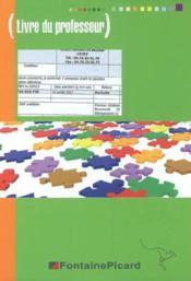 Corrige Epreuve Ep1 Bac Pro Comptabilite Terminale - Couverture - Format classique