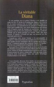 La Veritable ; La Véritable Diana - 4ème de couverture - Format classique