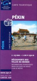 Pékin - Couverture - Format classique