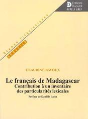 Francais de madagascar (le) (édition 2000) - Intérieur - Format classique