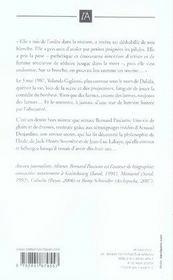 Dalida, une vie brûlée - 4ème de couverture - Format classique