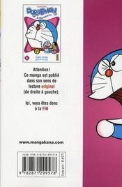 Doraemon t.4 - 4ème de couverture - Format classique