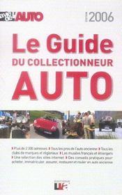 Le guide du collectionneur auto (édition 2006) - Intérieur - Format classique
