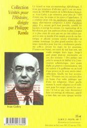 Dictionnaire Des Martyrs De La Revolution - 4ème de couverture - Format classique